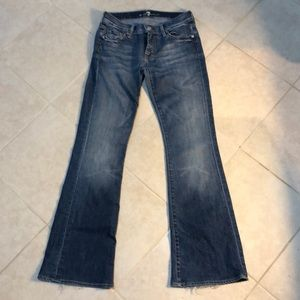 7 for All Mankind Flare Jeans, 27